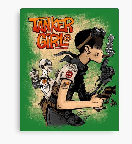 Tanker Girl Canvas Print