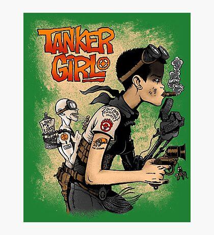 Tanker Girl Photographic Print
