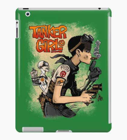 Tanker Girl iPad Case/Skin