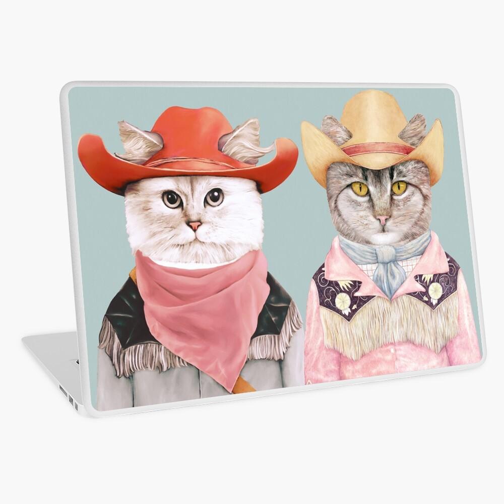 Cowboy Cats Laptop Skin
