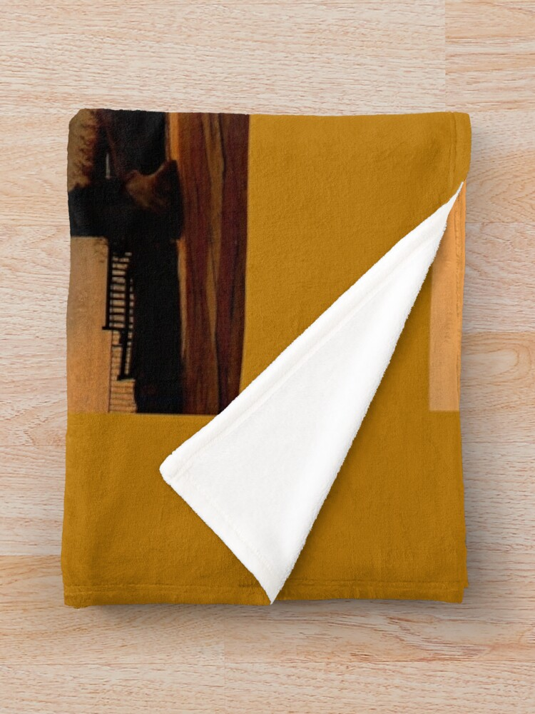 Alternate view of Beautiful Golden Sunrise in Whitby  Throw Blanket