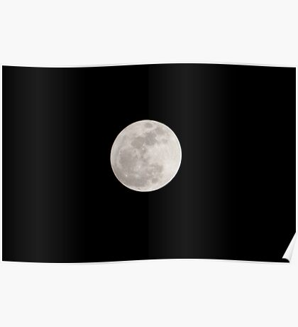 Supermoon Rises Poster