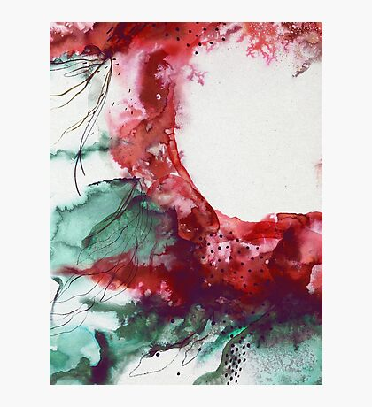 Abstract Floral Explosion Photographic Print