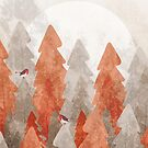 The robins and the forest by steveswade