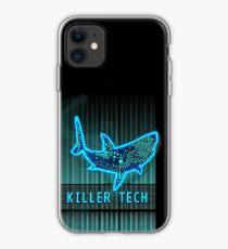 Killer Tech - Circuit board Shark iPhone Case