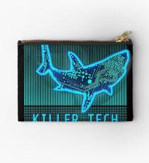 Killer Tech - Circuit board Shark Zipper Pouch