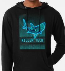 Killer Tech - Circuit board Shark Lightweight Hoodie