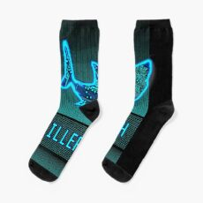 Killer Tech - Circuit board Shark Socks