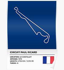 Schaltung Paul Ricard - v2 Poster