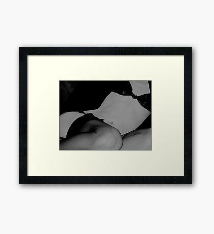 Shape Framed Print
