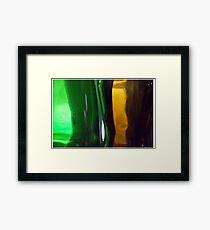 Liquid Language  Framed Print