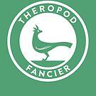 Theropod Fancier Print by David Orr