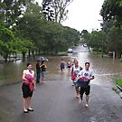 Brisbane Floods 2011 - Inundation - Smiling in the face of adversity by Neil Ross
