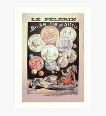 Achille Lemot Bilan fin de siècle Art Print