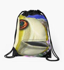 Margarine Fish Drawstring Bag