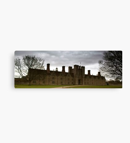 Knole House Canvas Print