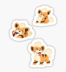 Growlithe Sticker