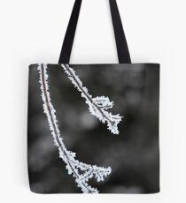 Morning Hoar Frost Tote Bag