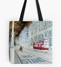 White-out Wonderland Tote Bag