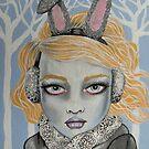 Snow Bunny by stephanie allison