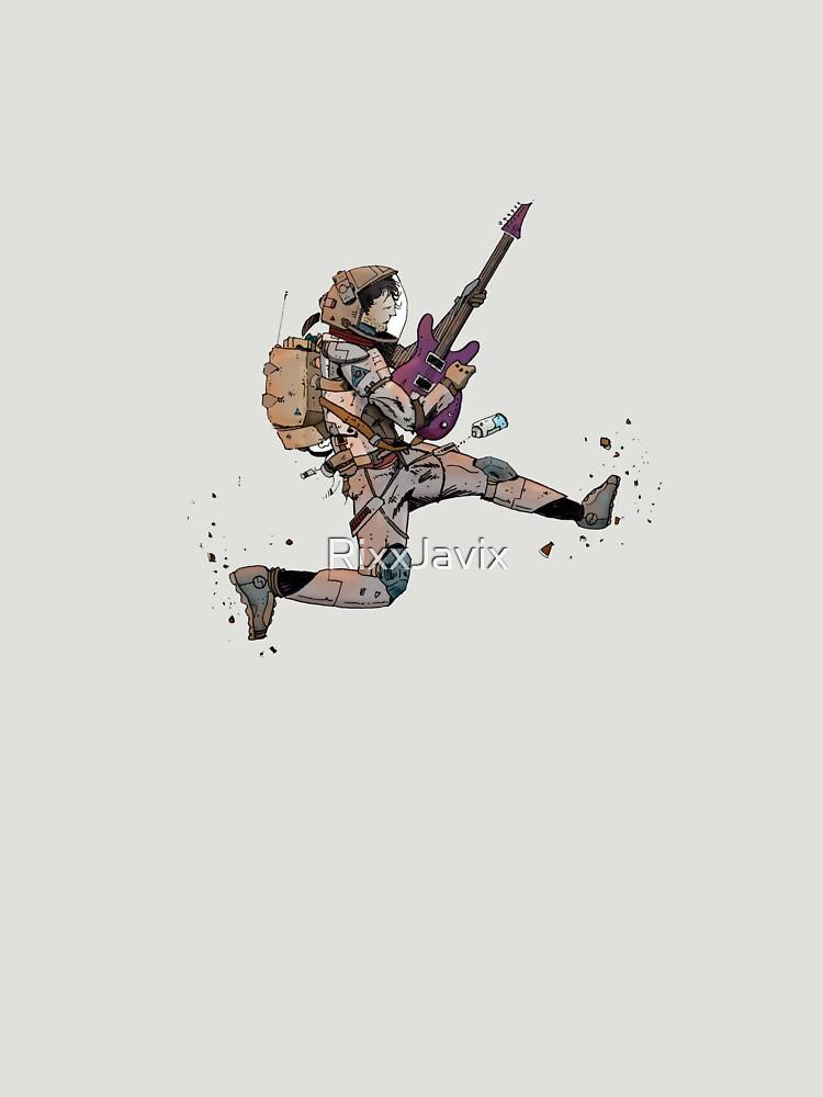Astronaut Guitar by RixxJavix