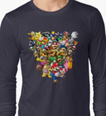 Mario Bros - All Star Long Sleeve T-Shirt