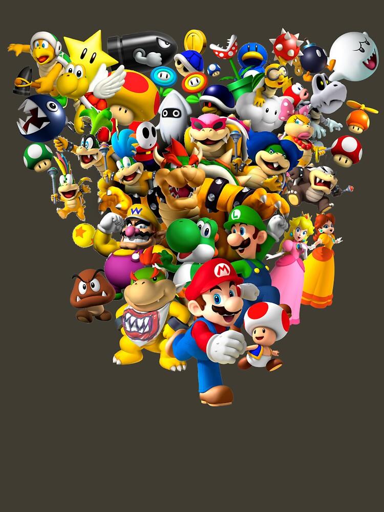 Mario Bros - All Star de nostalgicboy