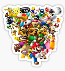 Mario Bros - All Star Sticker