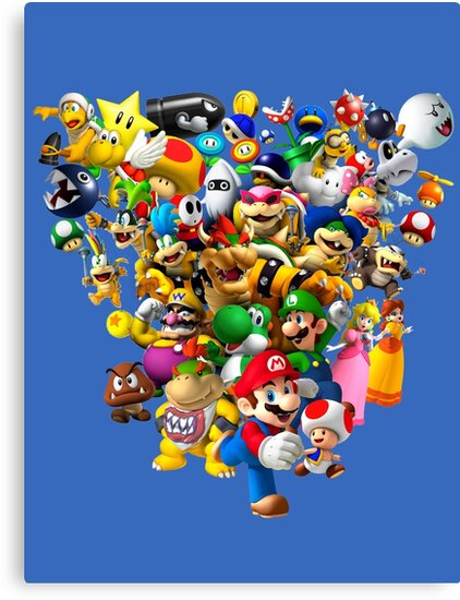 Mario Bros - All Star by nostalgicboy