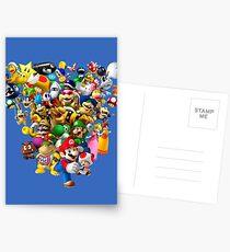 Mario Bros - All Star Postkarten