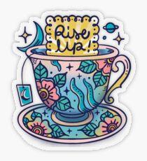 Teacup Transparent Sticker