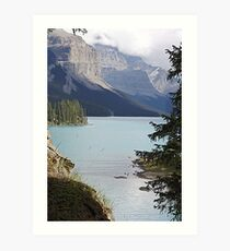 Lovely Maligne Art Print