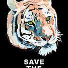 Tiger No.2 SAVE THE TIGER by christinahewson