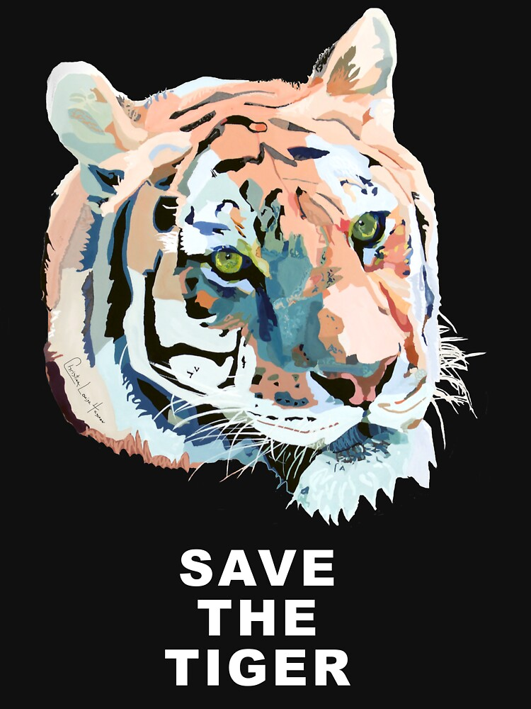 Tiger No.2 SAVE THE TIGER by christinahewson