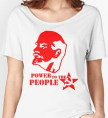 lenin - power to the people Women's Relaxed Fit T-Shirt