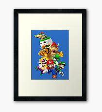 Mario 64 Framed Print