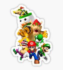 Mario 64 Sticker