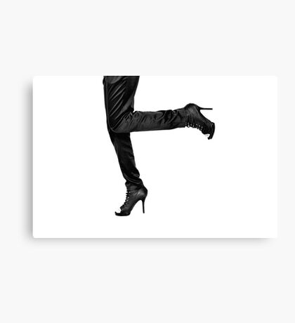 Kicking Up Your Heels Canvas Print