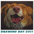The Little Dog Laughed for Drawing Day 2011 by Hilary Robinson