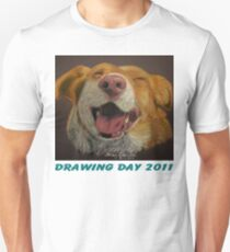 The Little Dog Laughed for Drawing Day 2011 Unisex T-Shirt