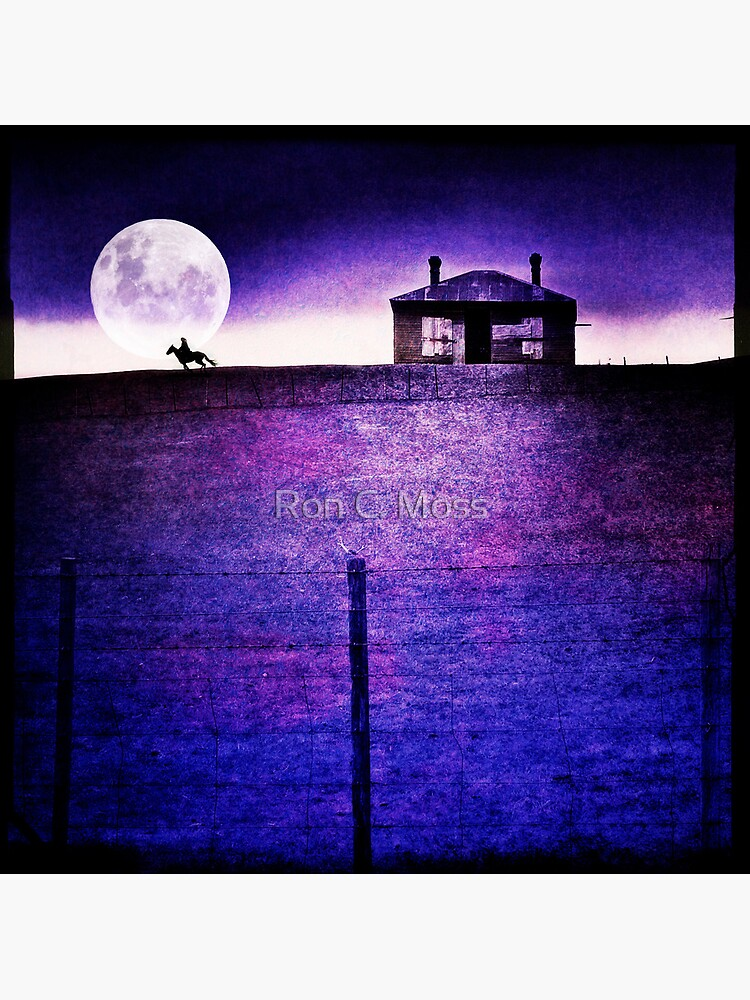 Moon Rider by ronmoss