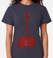 Camiseta clásica hacha de guitarra