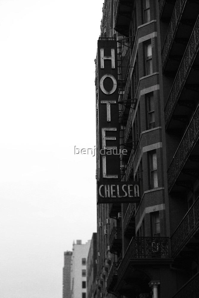 NEW YORK CHELSEA HOTEL by benj dawe