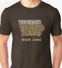 Drink Local - Iowa Beer Shirt T-Shirt