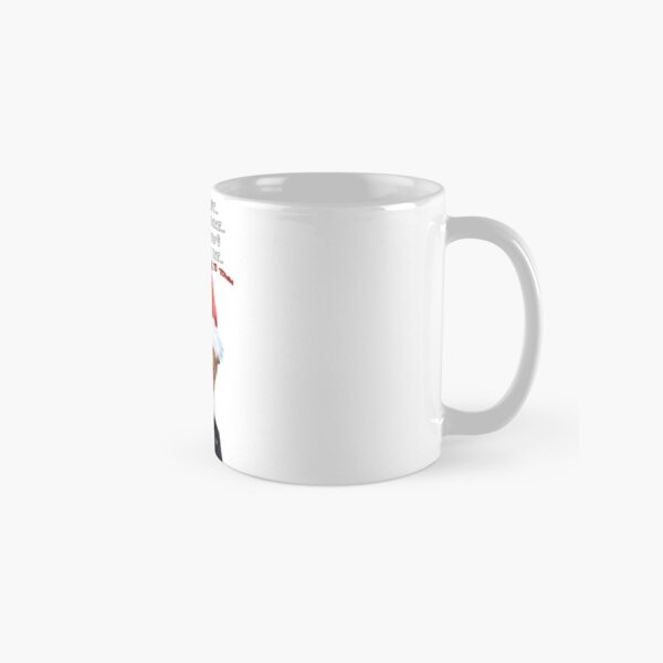 Funny Trump Christmas Making a List   Classic Mug