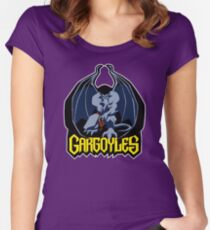 Gargoyles (Goliath) Women's Fitted Scoop T-Shirt
