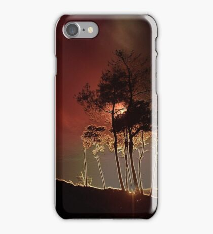 Almost Night Trees iPhone Case/Skin