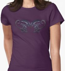 Xeno puppies Womens Fitted T-Shirt