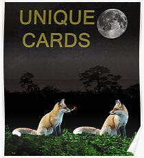 Urban Foxs Poster