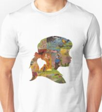 Thoughtful - Girl Silhouette Unisex T-Shirt